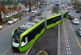 trackless tram Create Digital